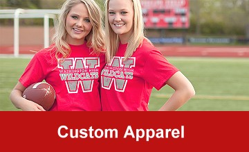 Texas School Products - Custom Apparel